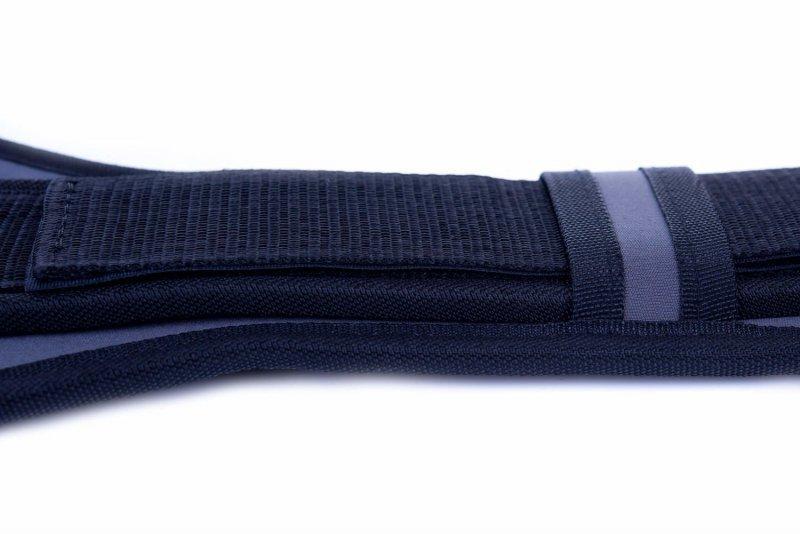 Wzmocniony Pas Kulturystyczy do ćwiczeń na siłowni  DBX BUSHODO L