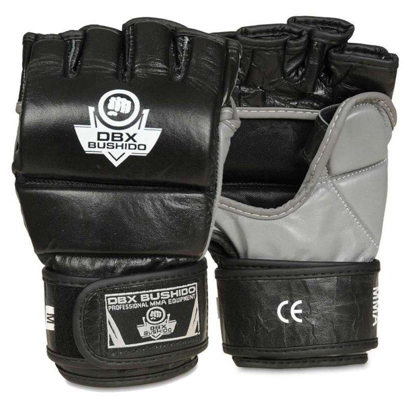 BUDO-E 1 - Skórzane rękawice treningowe do MMA, Krav Magi - L