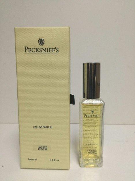 pecksniff's white floral