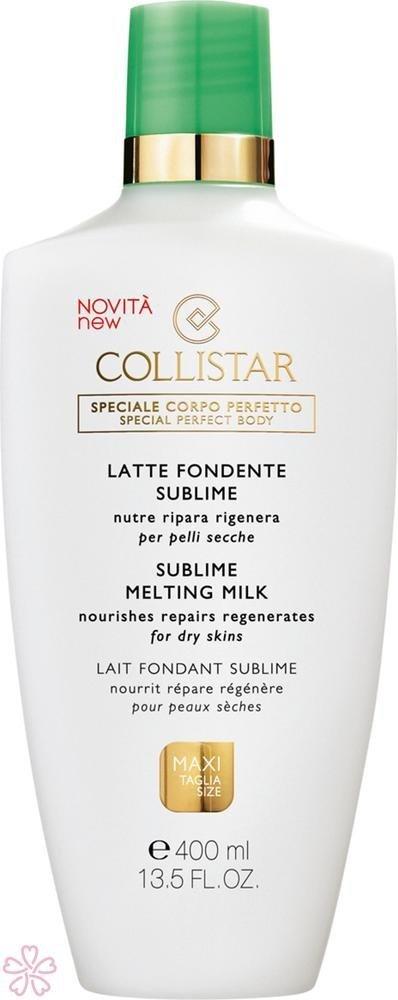 Collistar Special Perfect Body Sublime Melting Milk odżywcze mleczko do ciała 400ml
