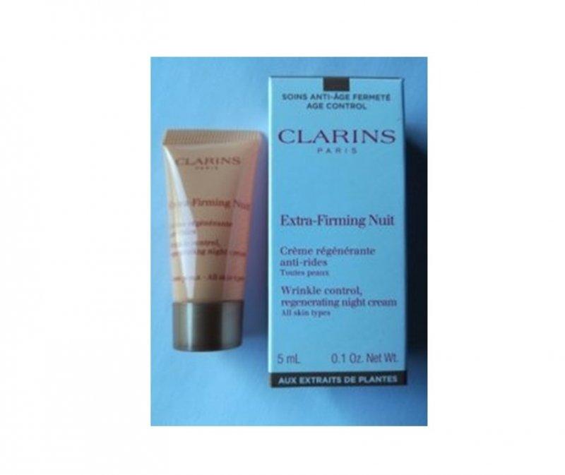 Clarins Extra-Firming ujędrniająco - przeciwzmarszczkowy krem na noc 5 ml