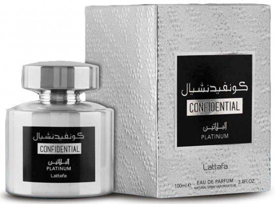 Lattafa Confidential Platinum woda perfumowana 5 ml próbka