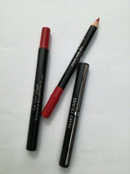 Mary Quant lip liner pencil konturówka do ust 01 blood line