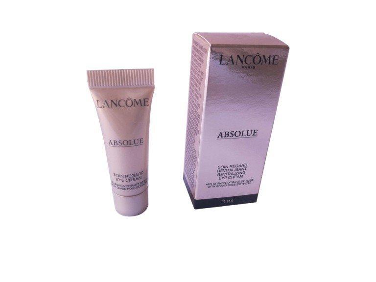Lancome Absolue Eye Cream rewitalizujący krem pod oczy 3 ml