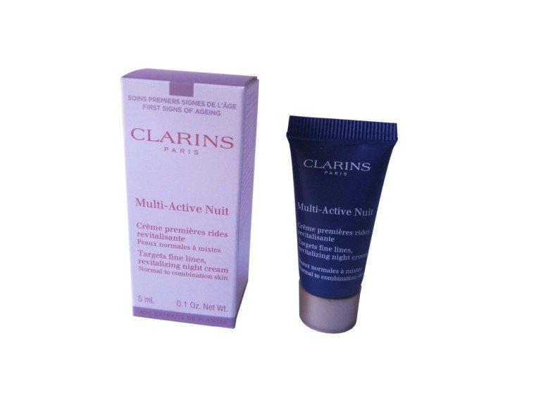 Clarins Multi-Active krem rewitalizujący na noc 5 ml