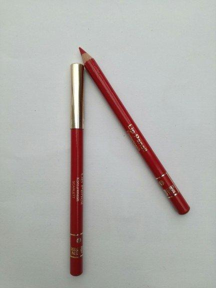 Ellen Betrix lip pencil konturówka do ust kolor Scarlett
