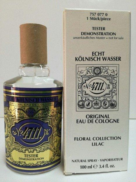 Maurer & Wirtz 4711 Floral Collection Lilac woda kolońska 100 ml