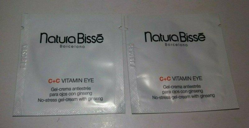 Natura Bisse C+C Vitamin Eye antystresowy żel-krem pod oczy 3 ml