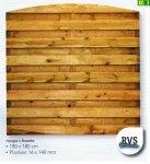 Drewniany płot deskowy 180 x180 -D16
