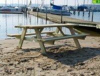 Stół drewniany do ogrodu  180  -   6  osób