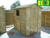 Drewniany domek narzędziowy 213 x 150 NR-02