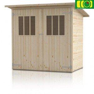 DM5 drewniany domek narzędziowy ZIMOWIT (200/120)