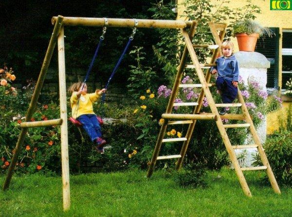 P06 dziecięca huśtawka ogrodowa ANITA
