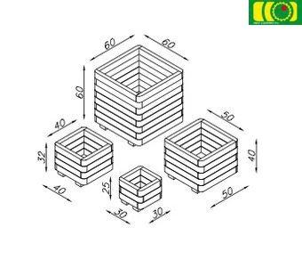 O09 donica 3-warstwy (30x30)