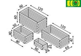 O08 donica 3-warstwy (30x60)