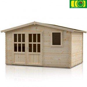 DM10 drewniany domek ogrodowy NARCYZ (380/280)