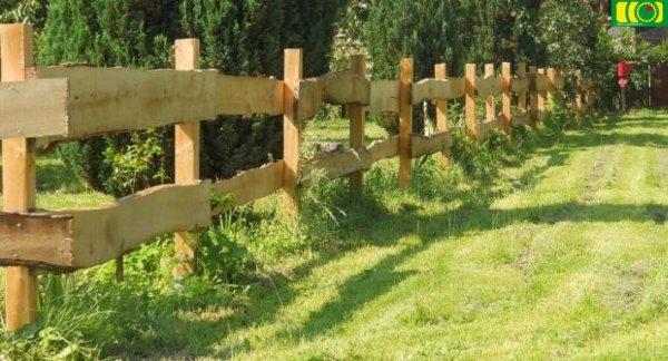 Ogrodzenie z deski rancho 1 przęsło 220 cm