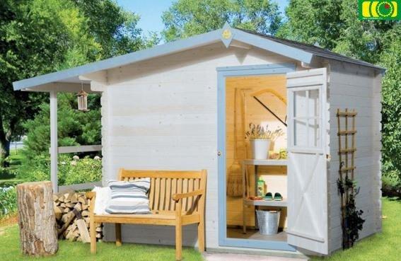 DM2 drewniany domek ogrodowy ASTER (250x180)
