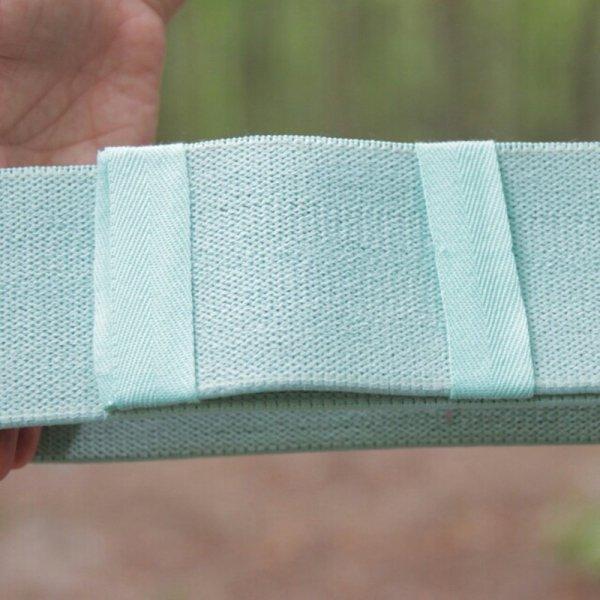 TAŚMA OPOROWA - loop band, kolor miętowy (regulowana długość taśmy umożliwia dostosowanie odpowiedniego oporu)
