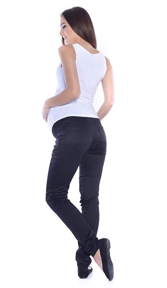MijaCulture - spodnie rurki ciążowe 4007/M24 czarny