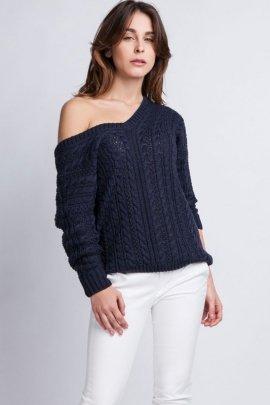 Sweter Kendall SWE 079 Granatowy