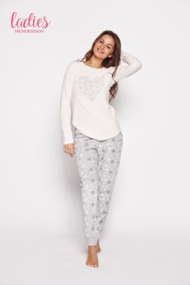 Piżama Gioia 35599-03x Różowo-szara