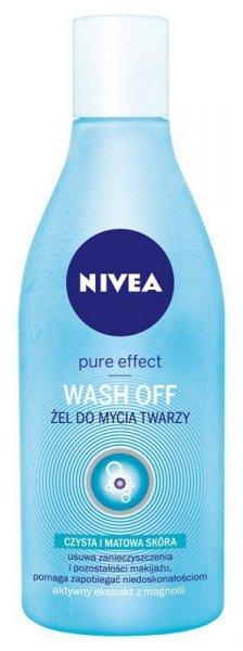 Nivea Pure Effect Żel do mycia twarzy Wash Off  150ml