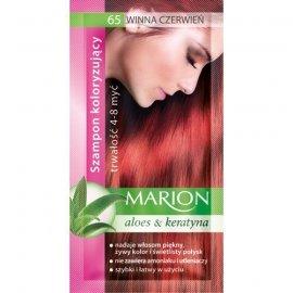 Marion Szampon koloryzujący 4-8 myć nr 65 winna czerwień
