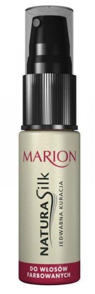 Marion Natura Silk Jedwabna kuracja do włosów farbowanych 15ml