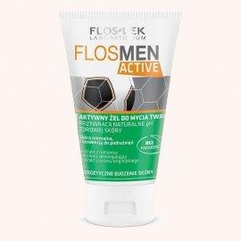 Floslek Men Active Żel do mycia twarzy