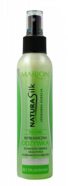 Marion Natura Silk Błyskawiczna odżywka do włosów cienkich i bez objętości