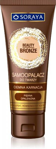 Soraya Beauty Bronze Samoopalacz w kremie do twarzy -ciemna karnacja