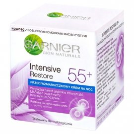Garnier Skin Naturals Intensive Restore 55+ Krem na noc przeciwzmarszczkowy