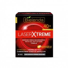 Bielenda Laser Xtreme 40+ Krem na noc liftingująco ujędrniający  50ml