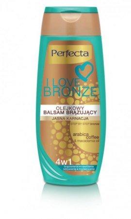 Dax Cosmetics I Love Bronze Balsam brązujący olejkowy 4w1 jasna karnacja 250ml