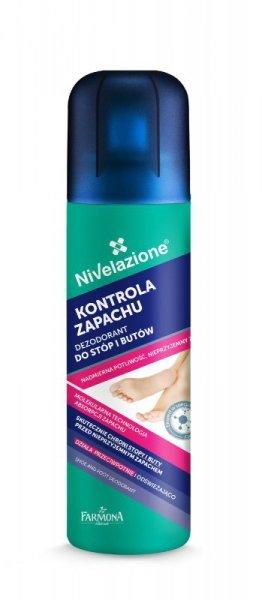 Farmona Nivelazione Stopy Dezodorant do stóp i butów Kontrola Zapachu  180ml