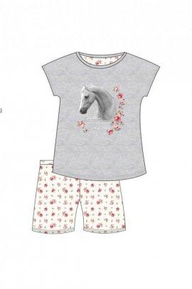 Piżama Cornette 788/53 Young Girl White Horse