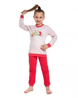 Piżama Cornette Kids Girl 594/76 Sleep Time dł/r N