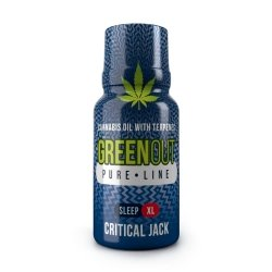 Green Out Pure XL Critical Jack SLEEP – Ekstrakt Premium 400mg