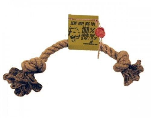 Sznur konopny zabawka dla psa (20mm/30cm)
