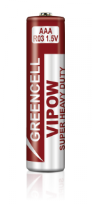Baterie VIPOW GREENCELL R03