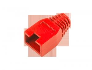 Osłona gumowa wtyku 8p8c RJ45 czerwona