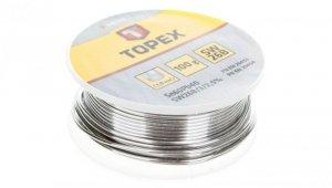 Lut cynowy 60% Sn drut 1.0 mm 100 g 44E522