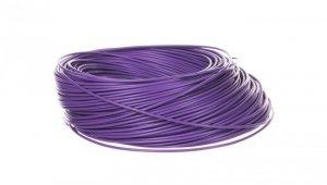 Przewód instalacyjny H05V-K 0,5 fioletowy 29088 /100m/