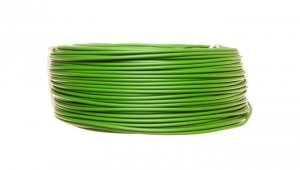 Przewód instalacyjny H07V-K (LgY) 1,5 zielony /100m/