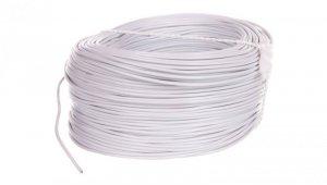 Przewód instalacyjny H05V-K (LgY) 0,5 biały /100m/