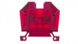 Złączka szynowa 2-przewodowa 10mm2 czerwona EURO 10/35 43402RD