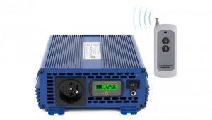 Przetwornica napięcia 24 VDC / 230 VAC ECO MODE  SINUS IPS-1200S PRO 1200W AZO00D1227