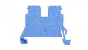 Złączka szynowa 2-przewodowa 2,5mm2 niebieska 870-904