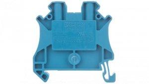 Listwa zaciskowa przepustowa 2-przewodowa 0,14-4mm2 niebieska UT 2,5 BU 3044089 /50szt./